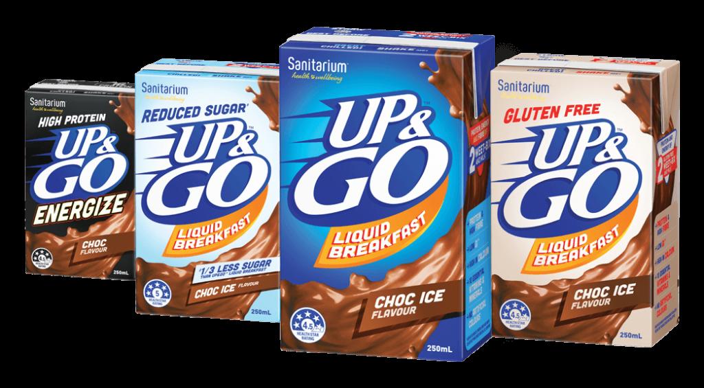 UP&GO Product Range